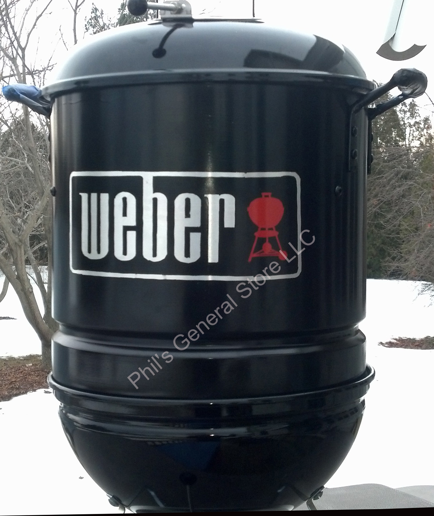 mini wsm smoker kit fits weber smokey joe charcoal grill. Black Bedroom Furniture Sets. Home Design Ideas